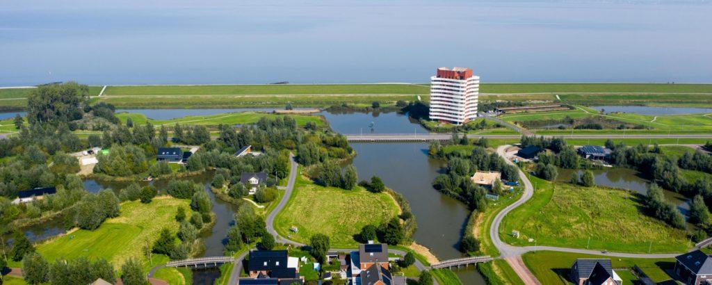 Kwelderland drone foto